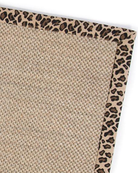 MacKenzie-Childs Leopard Sisal Rug, 2' x 3'