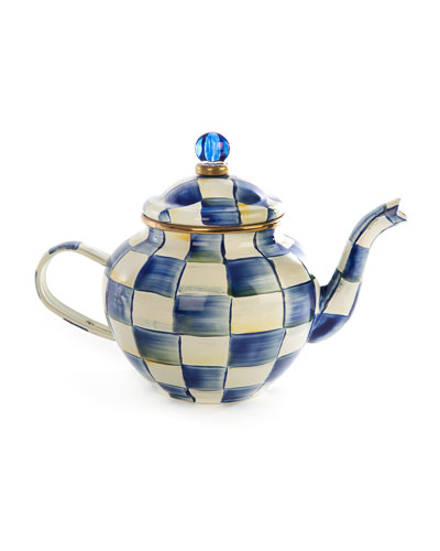 Royal Check Teapot