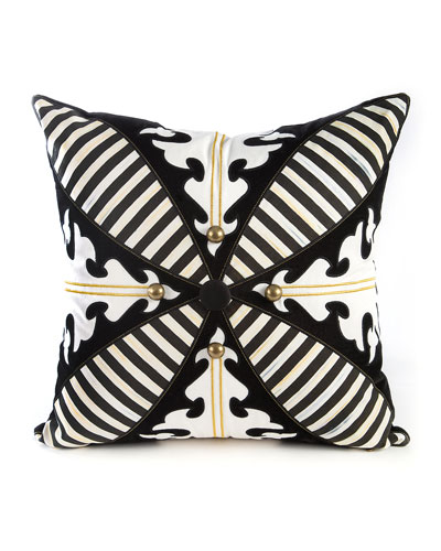 Regiment Square Pillow