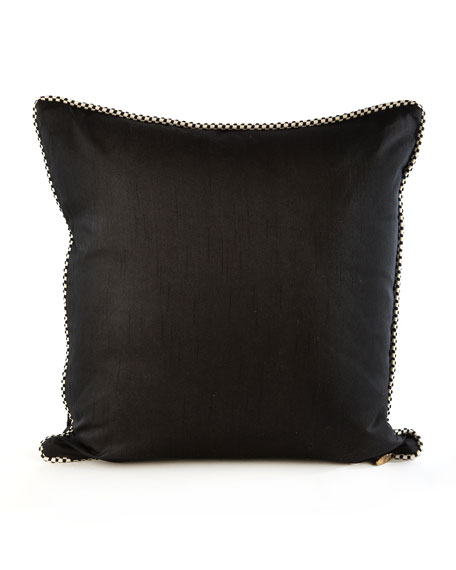 Byzantine Pillow, Black