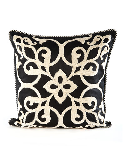 Byzantine Pillow  Black