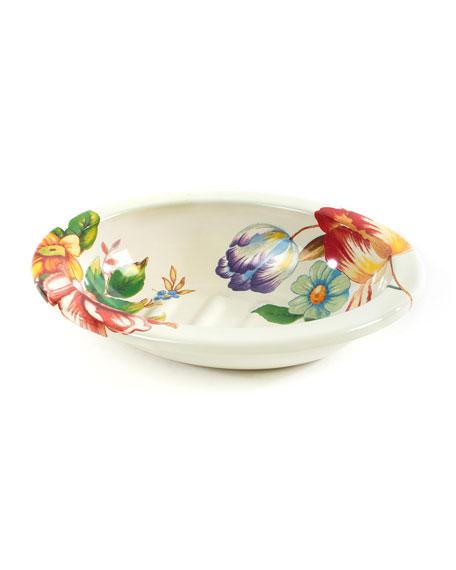MacKenzie-Childs Flower Market Soap Dish