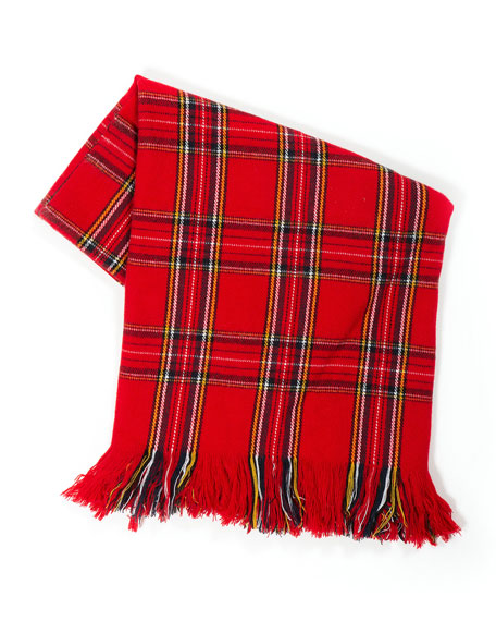 MacKenzie-Childs Highland Tartan Throw