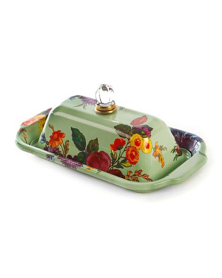 MacKenzie-Childs Flower Market Butter Box
