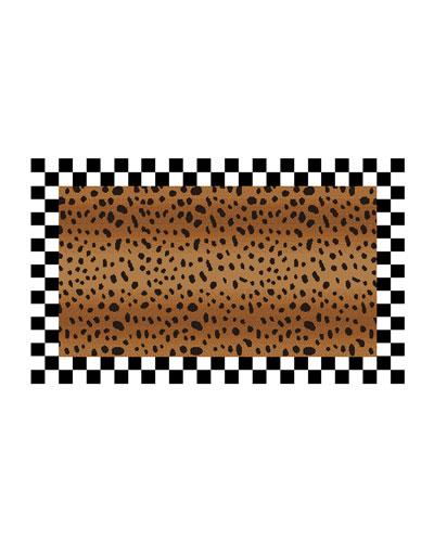 Cheetah Rug  2.3' x 3.75'