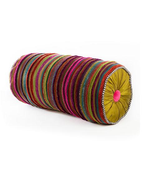 Paradise Stripe Bolster Pillow