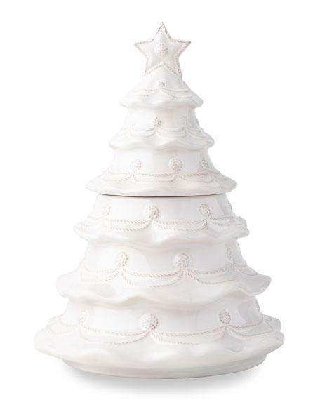 Juliska Berry & Thread Whitewash Christmas Tree Cookie