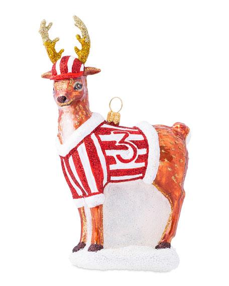 Juliska Country Estate Reindeer Games Donner Ornament