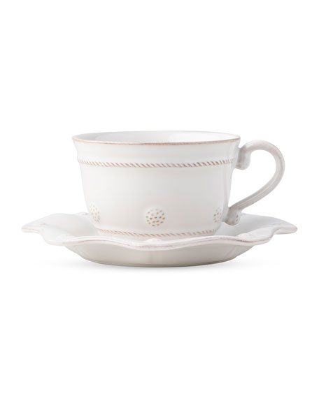 Berry & Thread Whitewash Tea For One Set