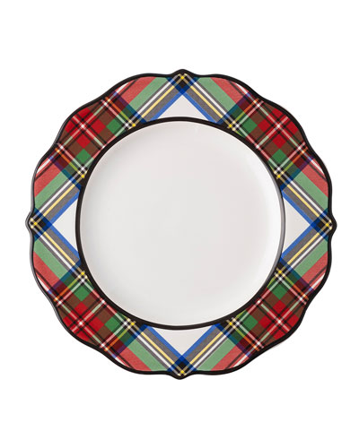 Stewart Tartan Dessert/Salad Plate