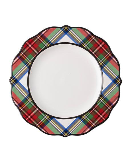 Juliska Stewart Tartan Dessert/Salad Plate