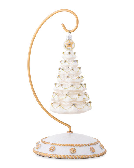 Berry & Thread Gold/Silver Tree Ornament