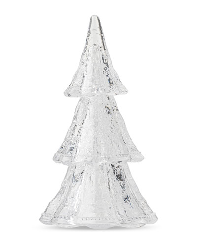 Berry & Thread 10.5 Medium 3-Piece Stacking Glass Tree  Clear/White
