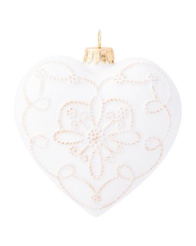 Berry & Thread Ceramic Heart Ornament