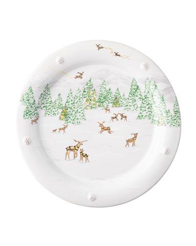 Berry & Thread North Pole Dinner Plate
