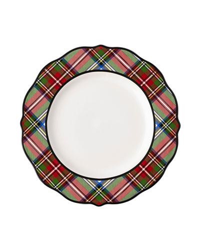 Stewart Tartan Dinner Plate