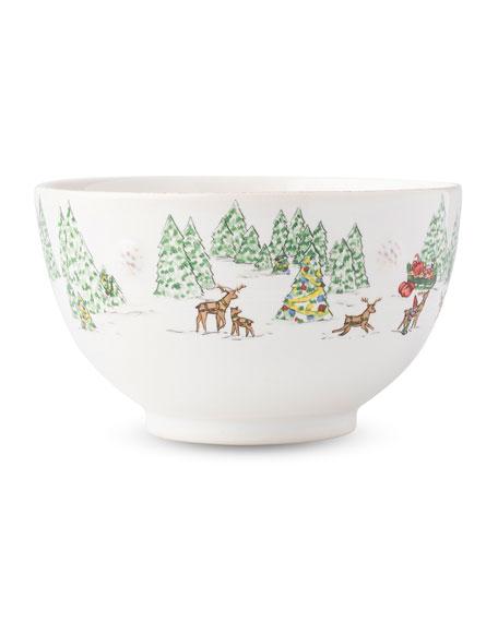 Berry & Thread North Pole Cereal/Ice Cream Bowl