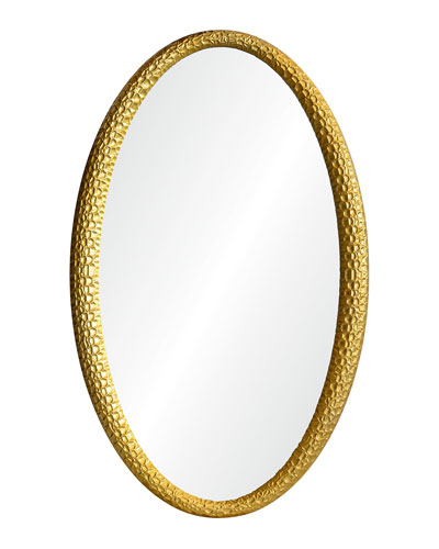 Hand-Carved Chippendale Mirror