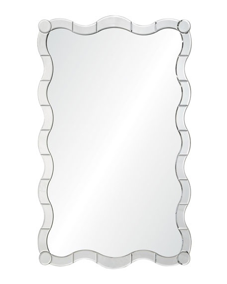 Hand-Carved Mirror Framed Mirror