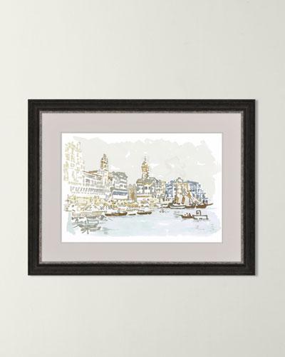 Italy Coast Art Print