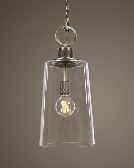 The Uttermost Co Rosston 1-Light Mini Pendant