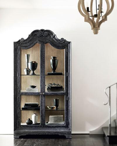 Villa Toscana Curio Cabinet