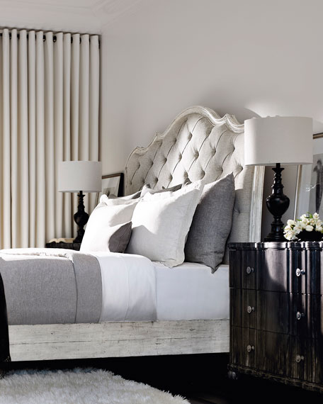 Mirabelle Button-Tufted California King Bed