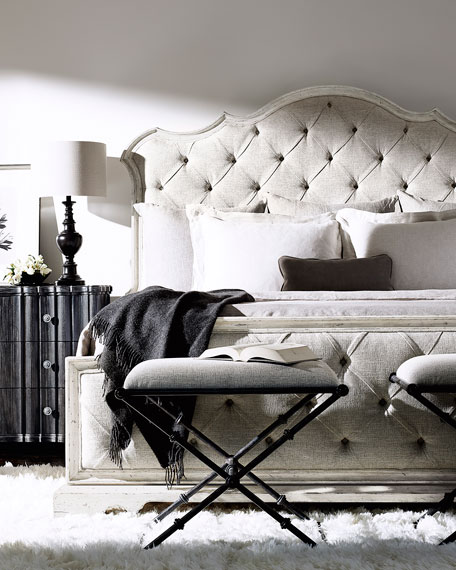 Bernhardt Mirabelle Button-Tufted California King Bed