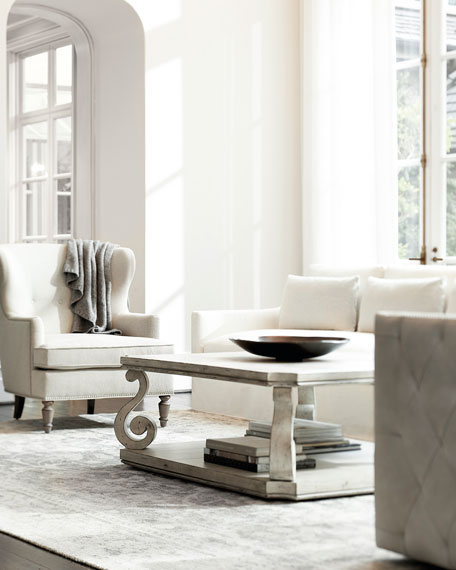 Mirabelle Square Coffee Table