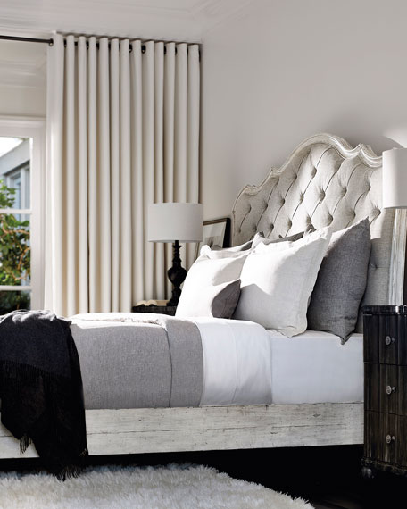 Mirabelle Button-Tufted King Bed