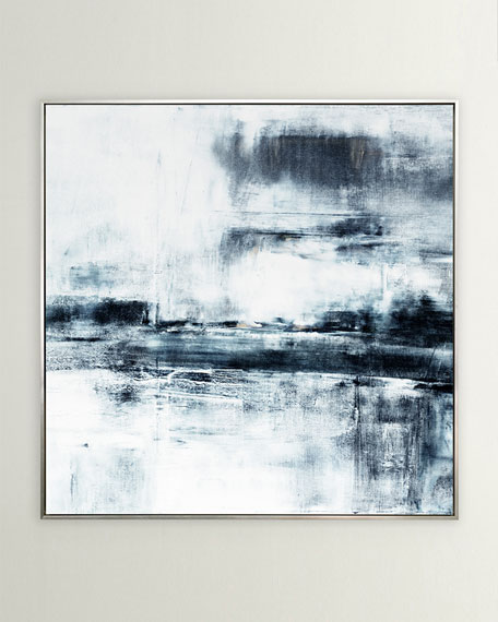 """""""Tahoe in Black"""" Giclee Art, 49""""Sq."""