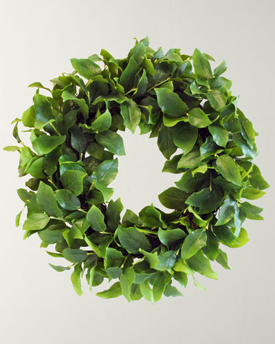 Salal Leaf Wreath