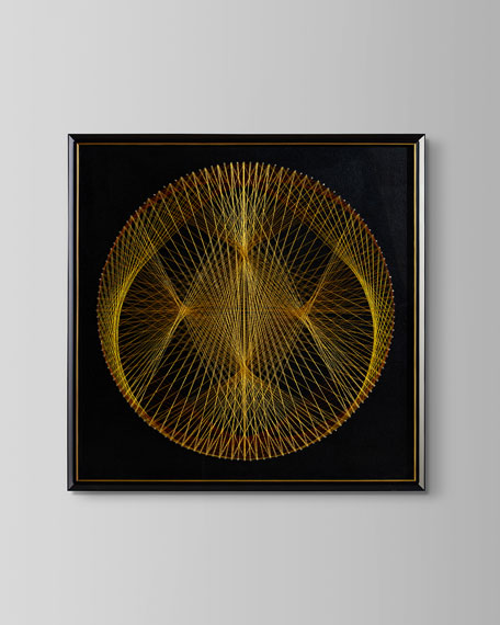 """Orb of Gold"" Art Print by Tony Fey"