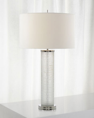 Blown Glass Table Lamp