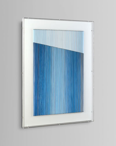 Blue Vista I Art Print by Mark McDowell