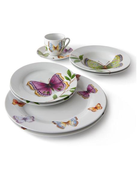 Neiman Marcus 20-Piece Butterfly Dinnerware Service