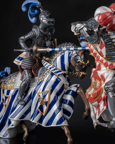 Medieval Tournament Sculpture