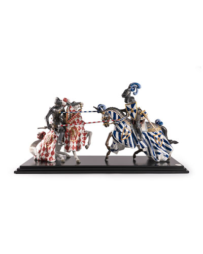 Medieval Tournament Sculpture