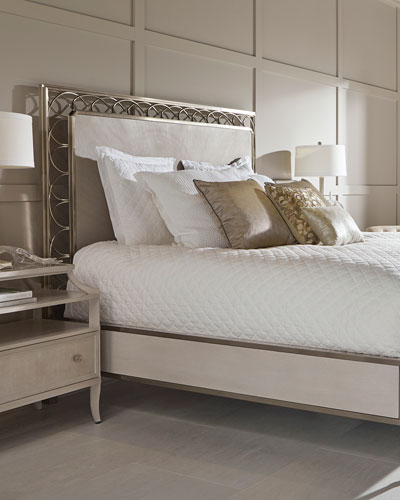 Alexandra Braided Metal Frame California King Bed
