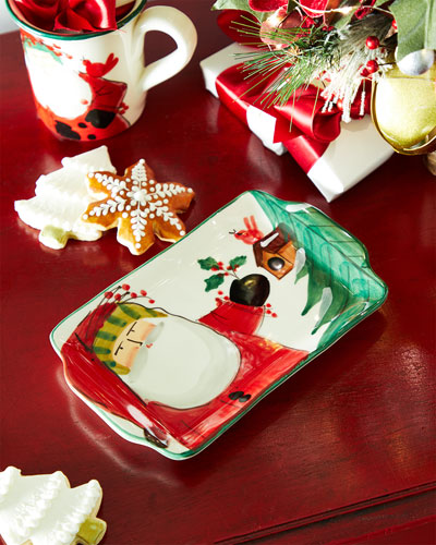 Old St. Nick 2020 Limited Edition Small Rectangle Platter