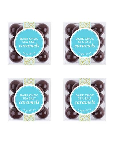 Dark Chocolate Sea Salt Caramels Small Cube Kit