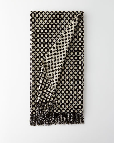 Picasso Reversible Texture Throw