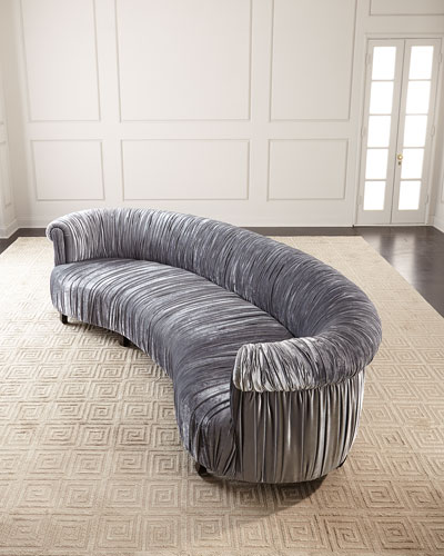 Romana Ruched Sofa  122