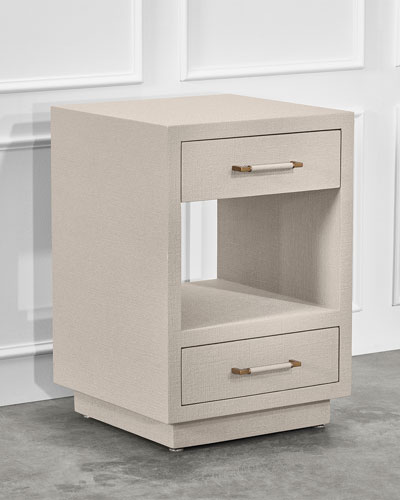 Taylor Small Bedside Chest  Caribbean Sand