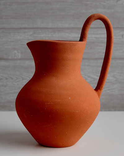 Hot Chocolate Clay Jug
