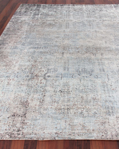Sanctuary Hand-Knotted Silk Rug  9' x 12'