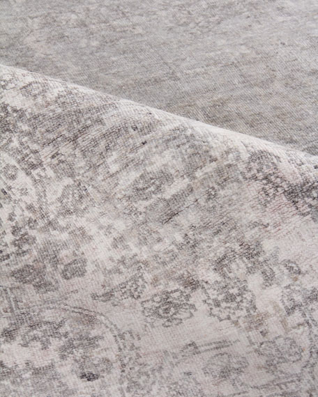 Julien Hand-Knotted Silk Rug, 8' x 10'