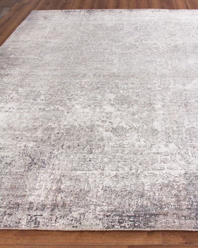 Julien Hand-Knotted Silk Rug  8' x 10'