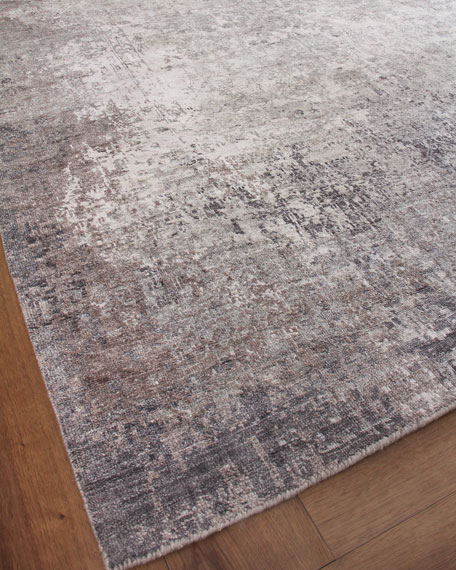 Julien Hand-Knotted Silk Rug, 10' x 14'
