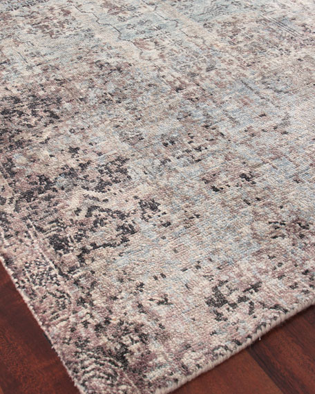 Sanctuary Hand-Knotted Silk Rug, 10' x 14'